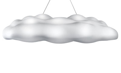 Suspension Néfos - MyYour blanc translucide en matière plastique
