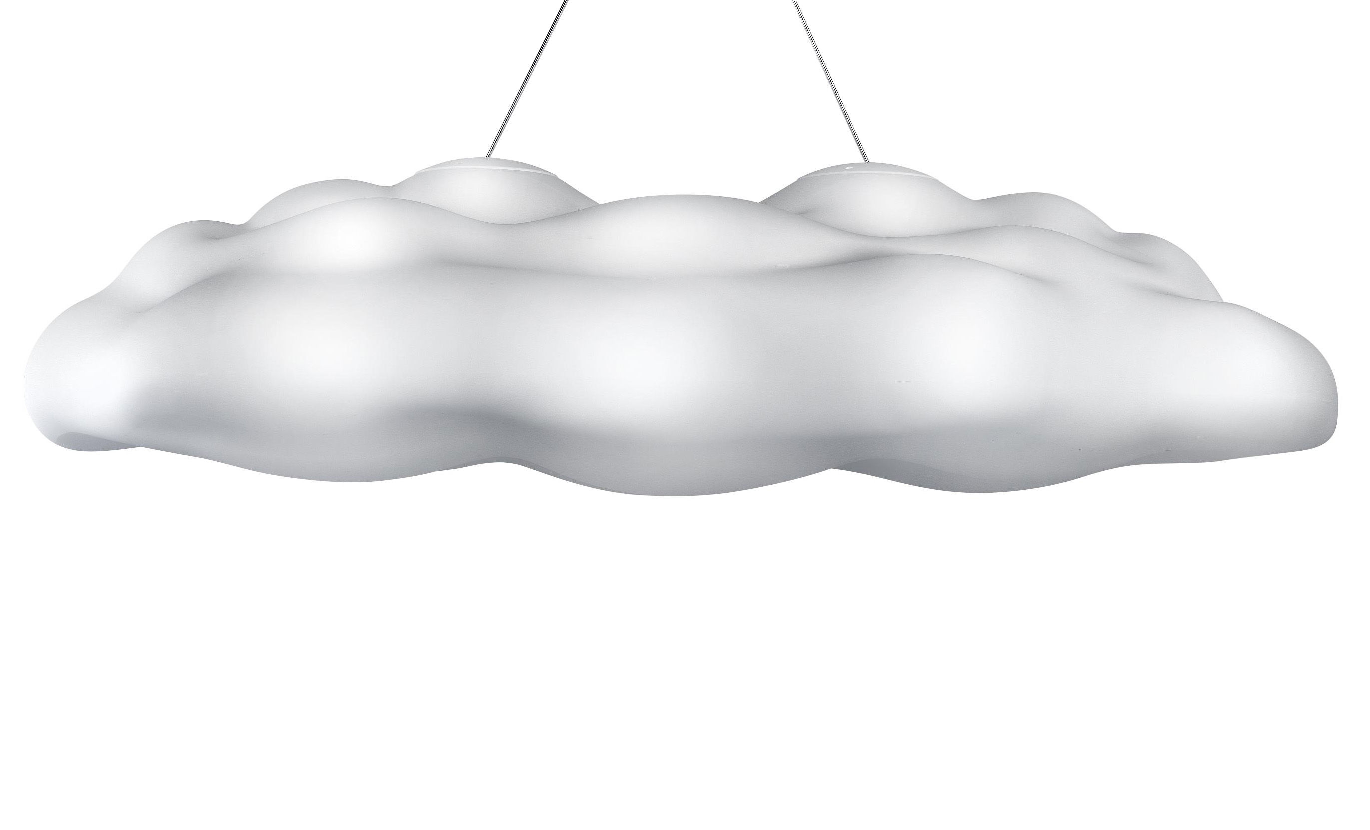 Luminaire - Suspensions - Suspension Néfos - MyYour - Blanc translucide - Polyéthylène