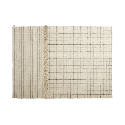 Déco - Tapis - Tapis Subas Medium - Karo / 300 x 200 cm - Laine - ames - 300 x 200 cm / Beige - Laine