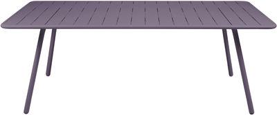 Luxembourg Tisch / für 8 Personen - L 207 cm - Fermob - Pflaume