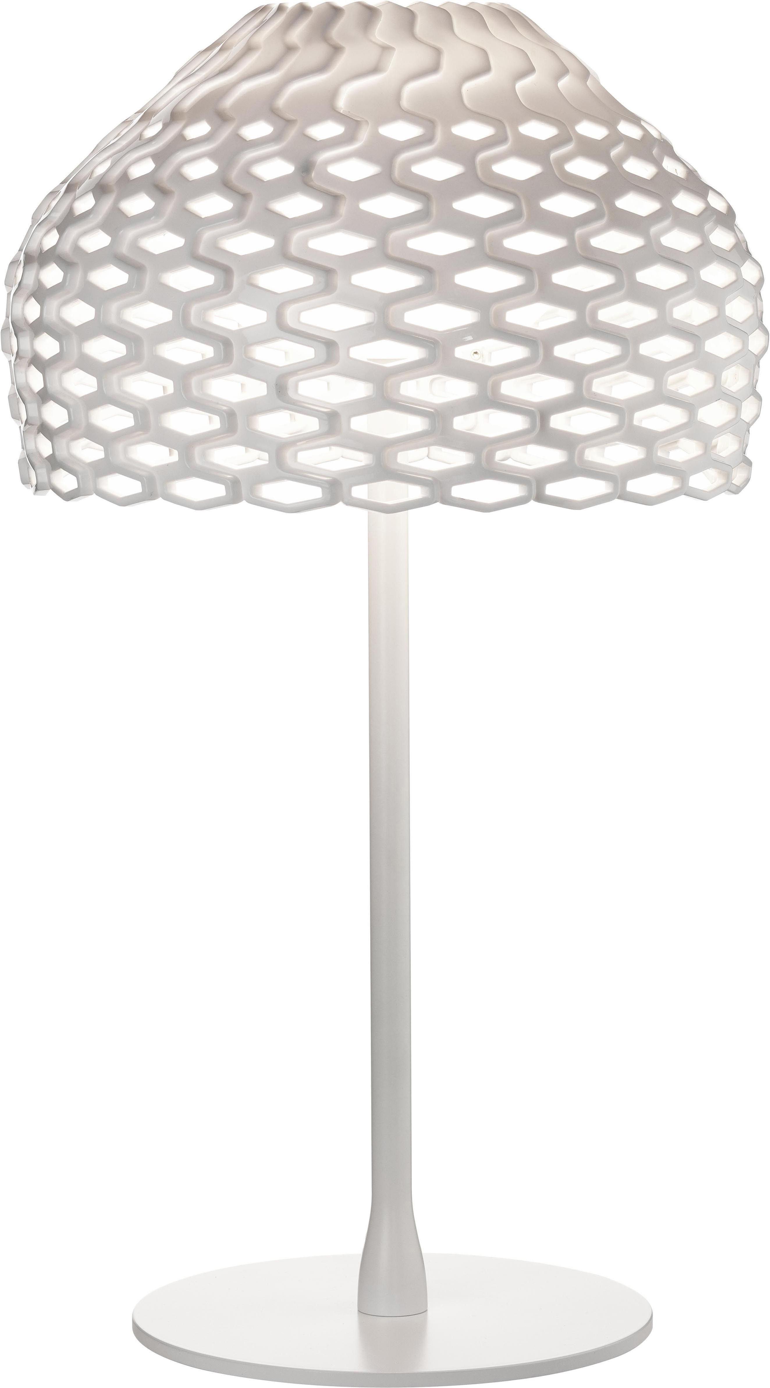 Leuchten - Tischleuchten - Tatou Tischleuchte H 50 cm - Flos - Weiß - Methacrylate, Polykarbonat