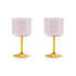 Tint Wine glass - / Set of 2 by Hay
