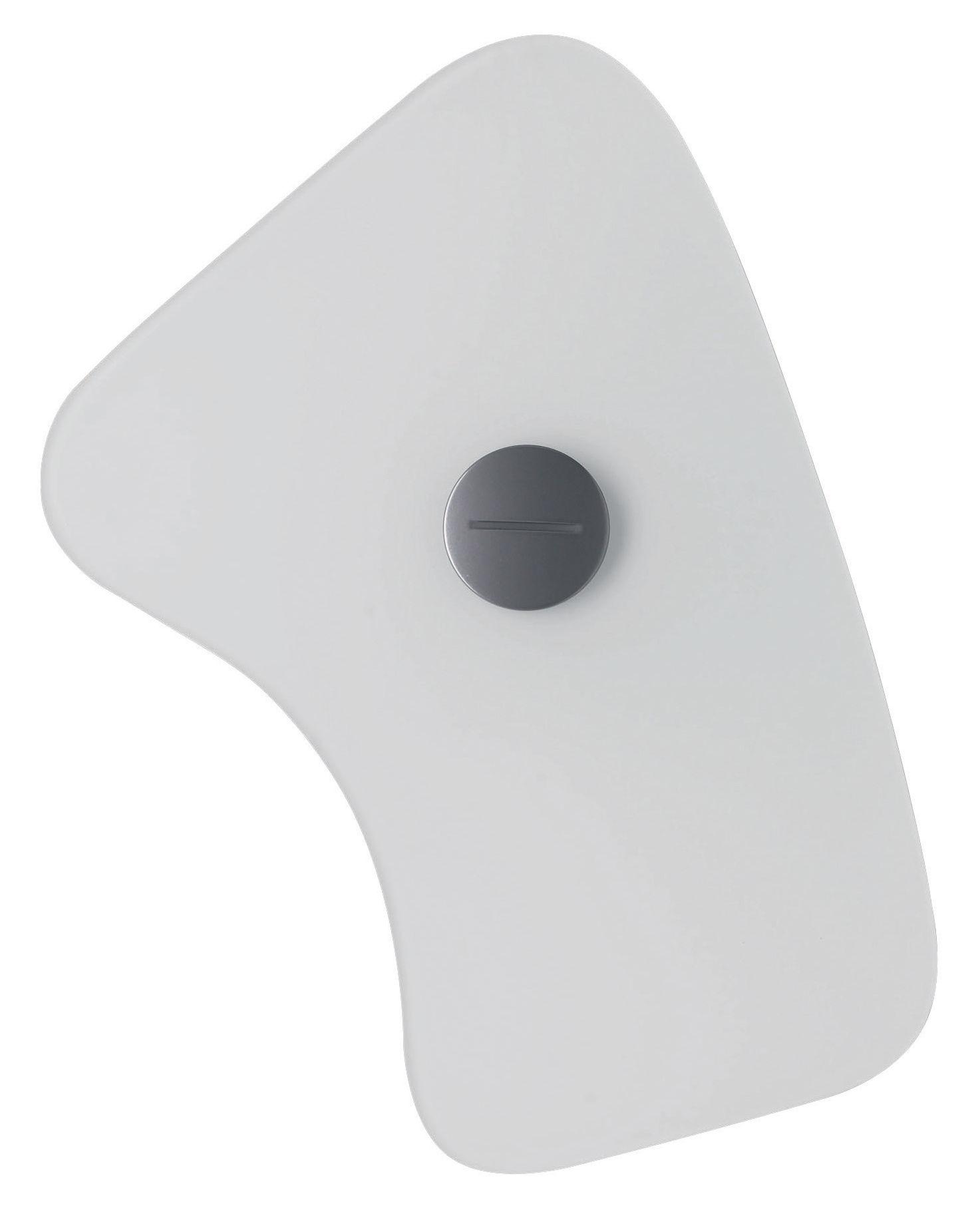 Luminaire - Appliques - Applique avec prise Bit 5 - Foscarini - Blanc - Métal, Verre