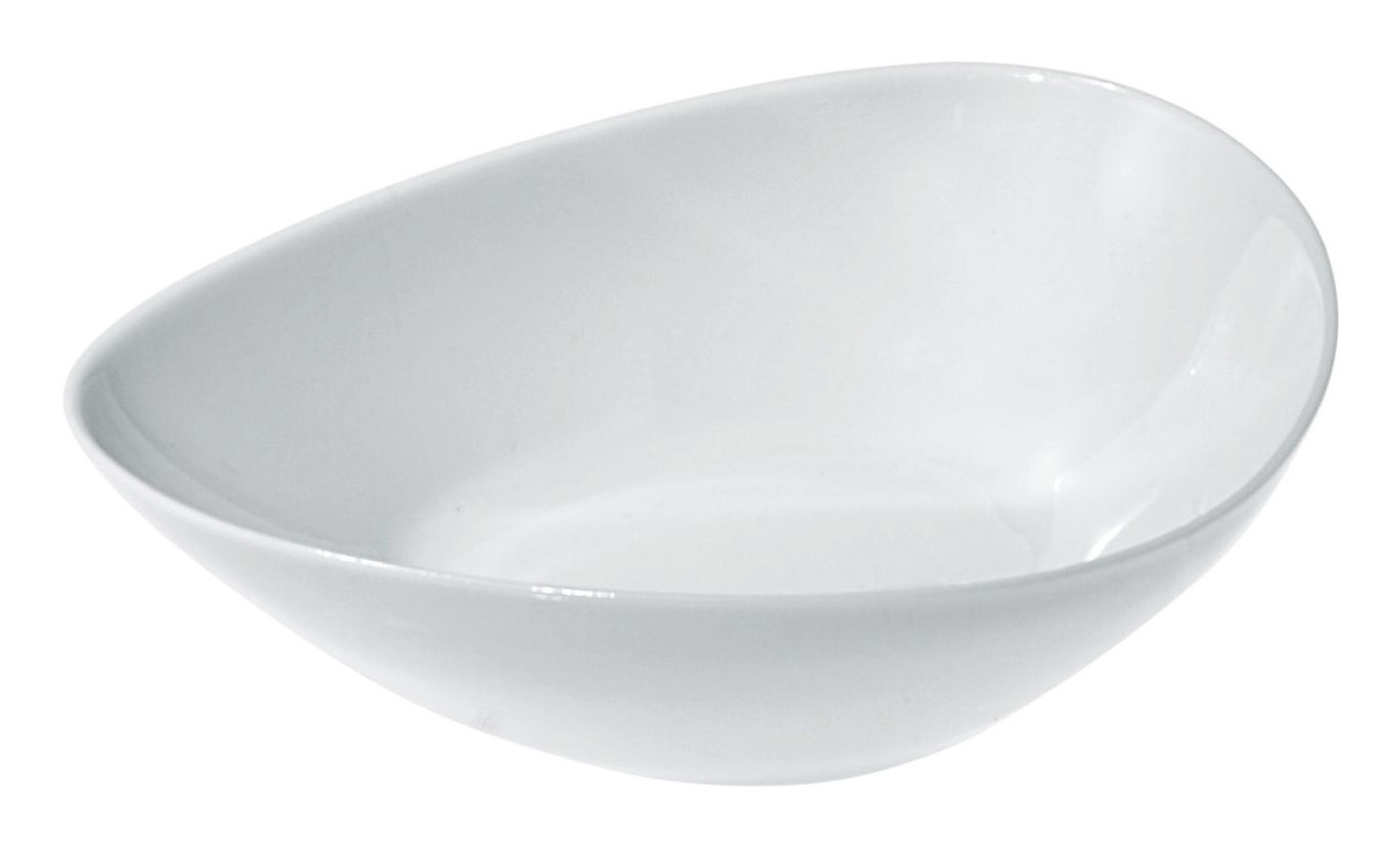 Tableware - Bowls - Colombina Bowl by Alessi - White - H 4 cm - China