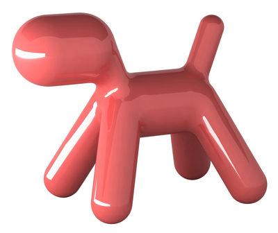 Chaise enfant Puppy Extra Large L 102 cm / Version laquée Laqué rouge brillant - Magis Collection Me Too