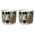 Letto Coffee cup - / Without handle - Set of 2 by Marimekko