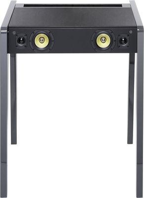 Mobilier - Consoles - Enceinte Bluetooth LD 130 / Pour ordi portable, iPod et iPhone - L 69 cm - La Boîte Concept - Gris clair - Cuir, MDF