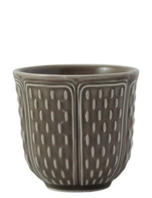 Gobelet Les Petits Choux / Set de 2 - 8,5 cl - GIEN taupe en céramique