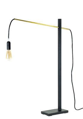 Lampe à poser Flamingo Small / H 73 cm - L 50 cm - Serax noir en métal