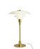 Lampe de table PH 3/2 / Verre & laiton - 1927 - Louis Poulsen