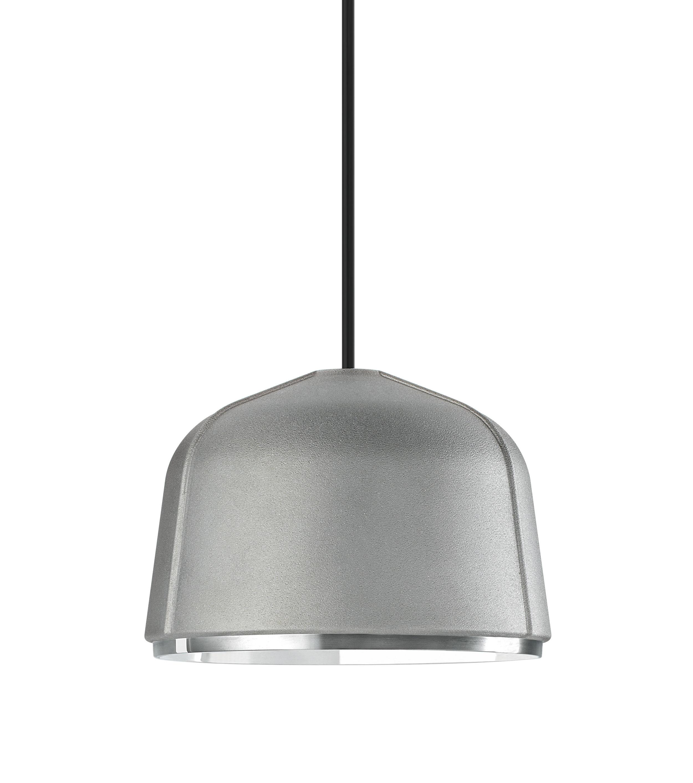 Lighting - Pendant Lighting - Arumi Pendant - LED / Ø 14 x H 10 cm by Foscarini - Aluminium - Pressure moulded aluminium alloy