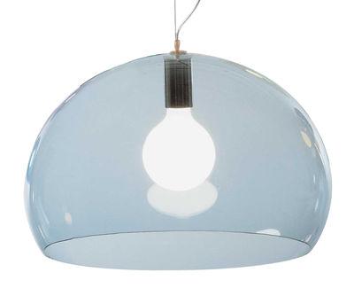 Lighting - Pendant Lighting - FL/Y Pendant by Kartell - light lue - PMMA