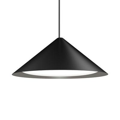Lighting - Pendant Lighting - Keglen LED Pendant - / Ø 65 cm - Aluminium by Louis Poulsen - Black - Aluminium