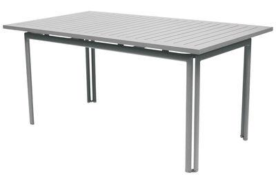 Table Costa / 160 x 80 cm - Fermob gris métal en métal