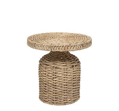 Mobilier - Tables basses - Table d'appoint Camo / Ø 47 x H 47 cm - Bloomingville - Naturel - Jacinthe d'eau