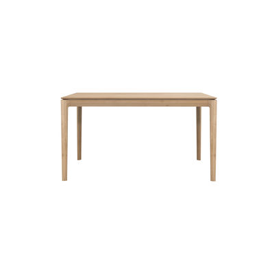Mobilier - Tables - Table rectangulaire Bok / Chêne massif - 140 x 80 cm / 6 personnes - Ethnicraft - 140 x 80 cm / Chêne - Chêne massif