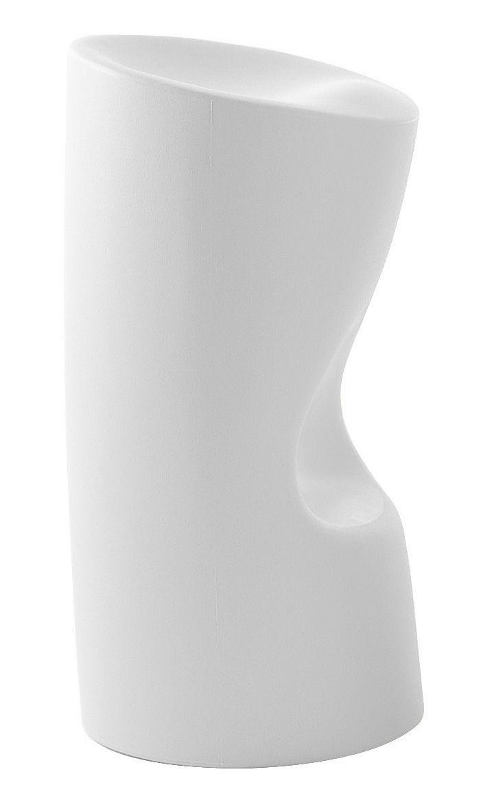 Mobilier - Tabourets de bar - Tabouret de bar Tokyo Pop / H 70 cm - Plastique - Driade - Blanc - Polyéthylène
