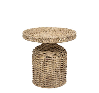 Arredamento - Tavolini  - Tavolino d'appoggio Camo - / Ø 47 x H 47 cm di Bloomingville - Naturale - Giacinto d'acqua