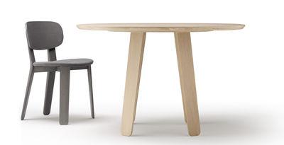 Tavolo Tondo 100 Cm.Tavolo Rotondo Triku Di Alki Legno Naturale Made In Design
