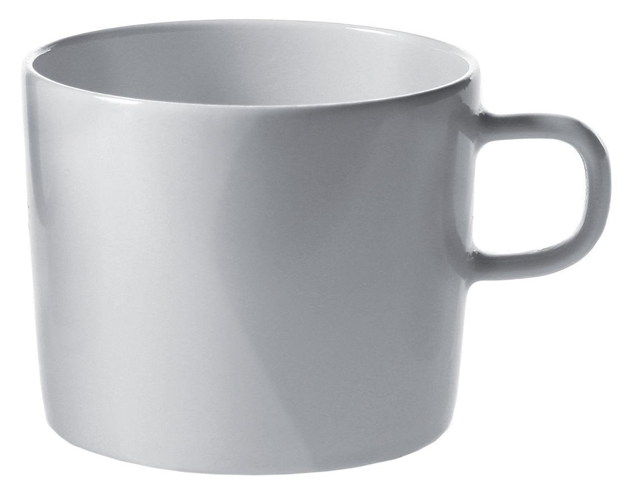 Tavola - Tazze e Boccali - Tazza da tè Platebowlcup di A di Alessi - Tazza bianca - Porcellana
