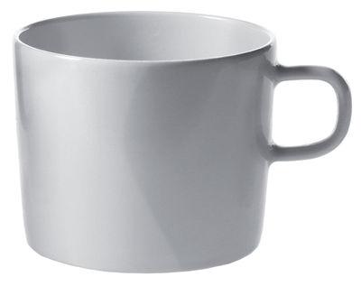 Tischkultur - Tassen und Becher - Platebowlcup Teetasse - A di Alessi - Tasse: Weiß - Porzellan