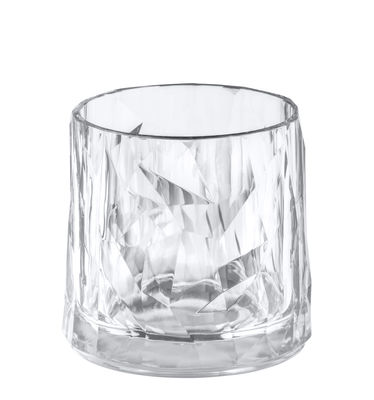 Arts de la table - Verres  - Verre Club No. 2 / H 8 cm - Koziol - Transparent - Plastique