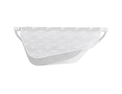 Illuminazione - Lampade da parete - Applique Méditerranéa - / LED - Metallo traforato di Petite Friture - Bianco - Ottone verniciato