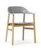 Herit Armchair - / Oak foot by Normann Copenhagen