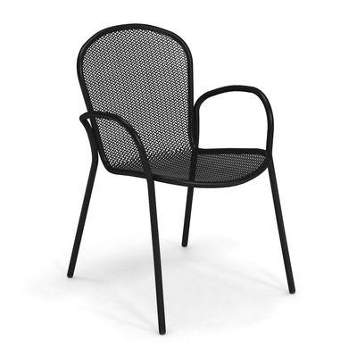 Furniture - Chairs - Ronda XS Armchair - / L 58 cm by Emu - Black - Steel