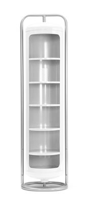 Mobilier - Etagères & bibliothèques - Armoire Cylindre Mono - Tolix - Blanc - Acier laqué