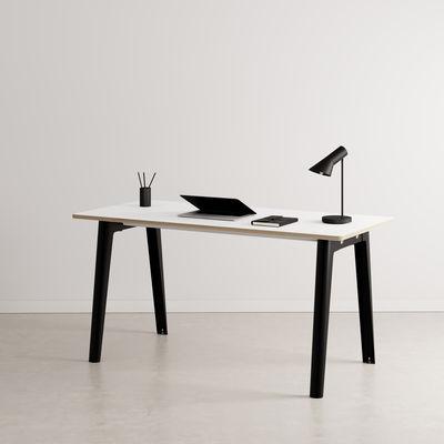 Bureau New Modern / 150 x 70 cm - Stratifié - TIPTOE noir en métal/bois