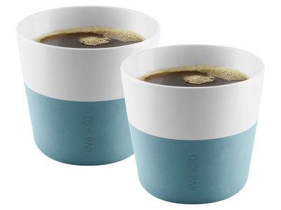 Gobelet Lungo / Set de 2 - 230 ml - Eva Solo blanc,bleu arctique en céramique