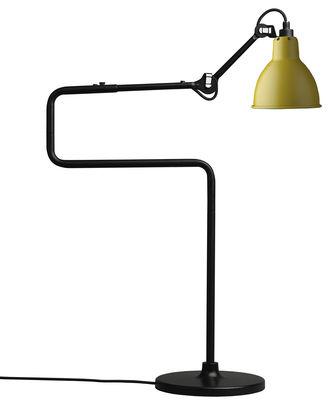 Lampe de table N°317 / H 65 cm - Lampe Gras - DCW éditions jaune en métal