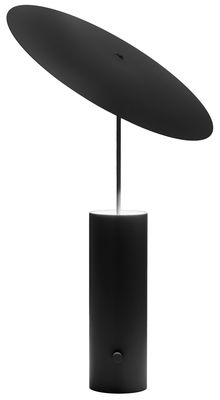Lampe de table Parasol / LED - H 50 cm - Innermost noir en métal