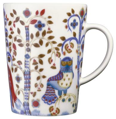 Arts de la table - Tasses et mugs - Mug Taika / 40 cl - Iittala - Blanc - Céramique