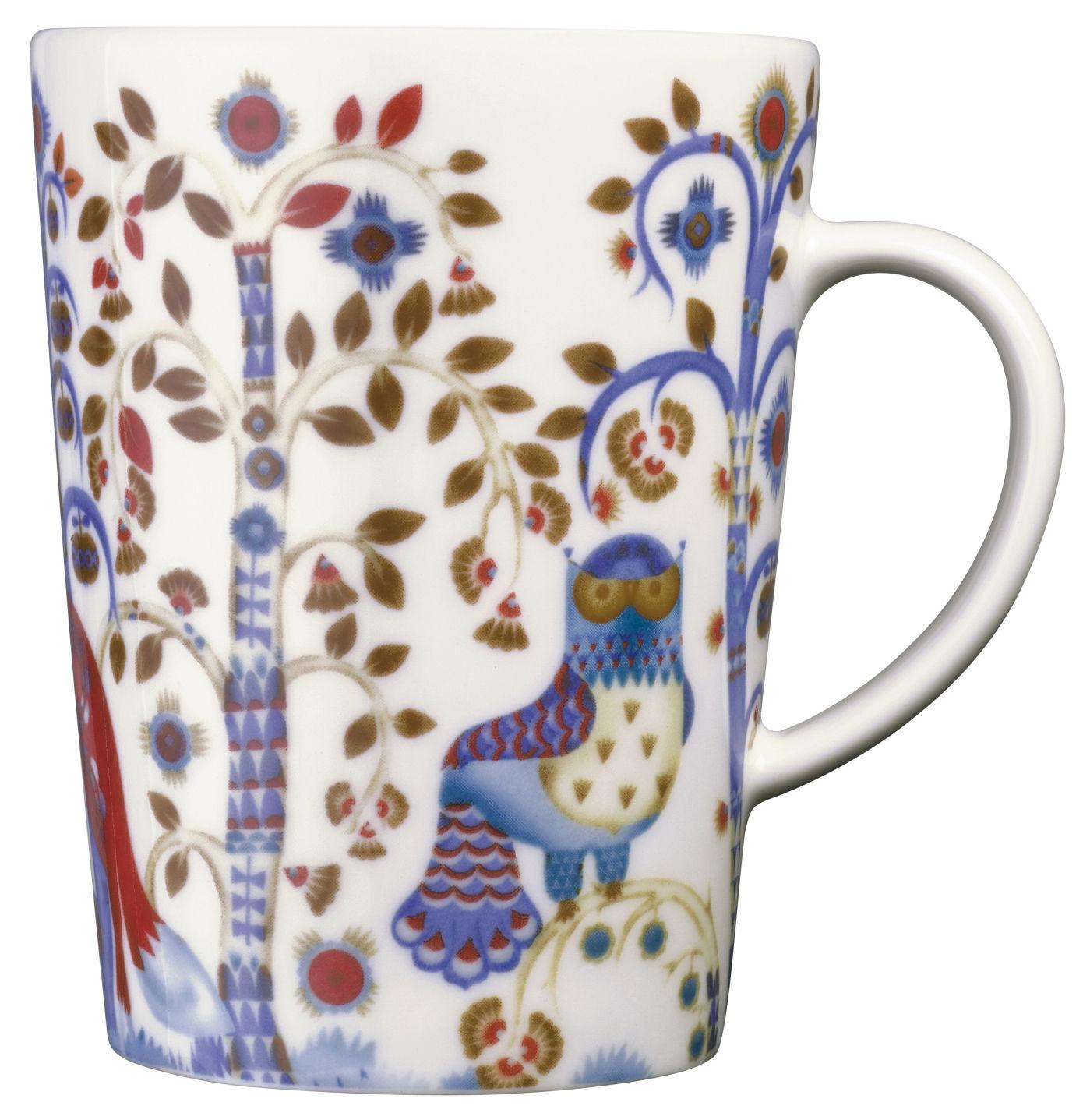 Tableware - Coffee Mugs & Tea Cups - Taika Mug by Iittala - White bottom - Ceramic