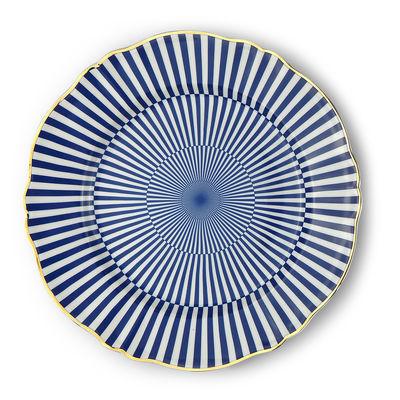 Tavola - Piatti  - Piatto Arcano - / Ø 26,5 cm di Bitossi Home - Geometria - Porcellana