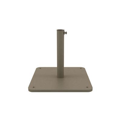 Pied de parasol / 70 Kg - Pour parasol Classic 300 x 300 cm - Ethimo gris en métal