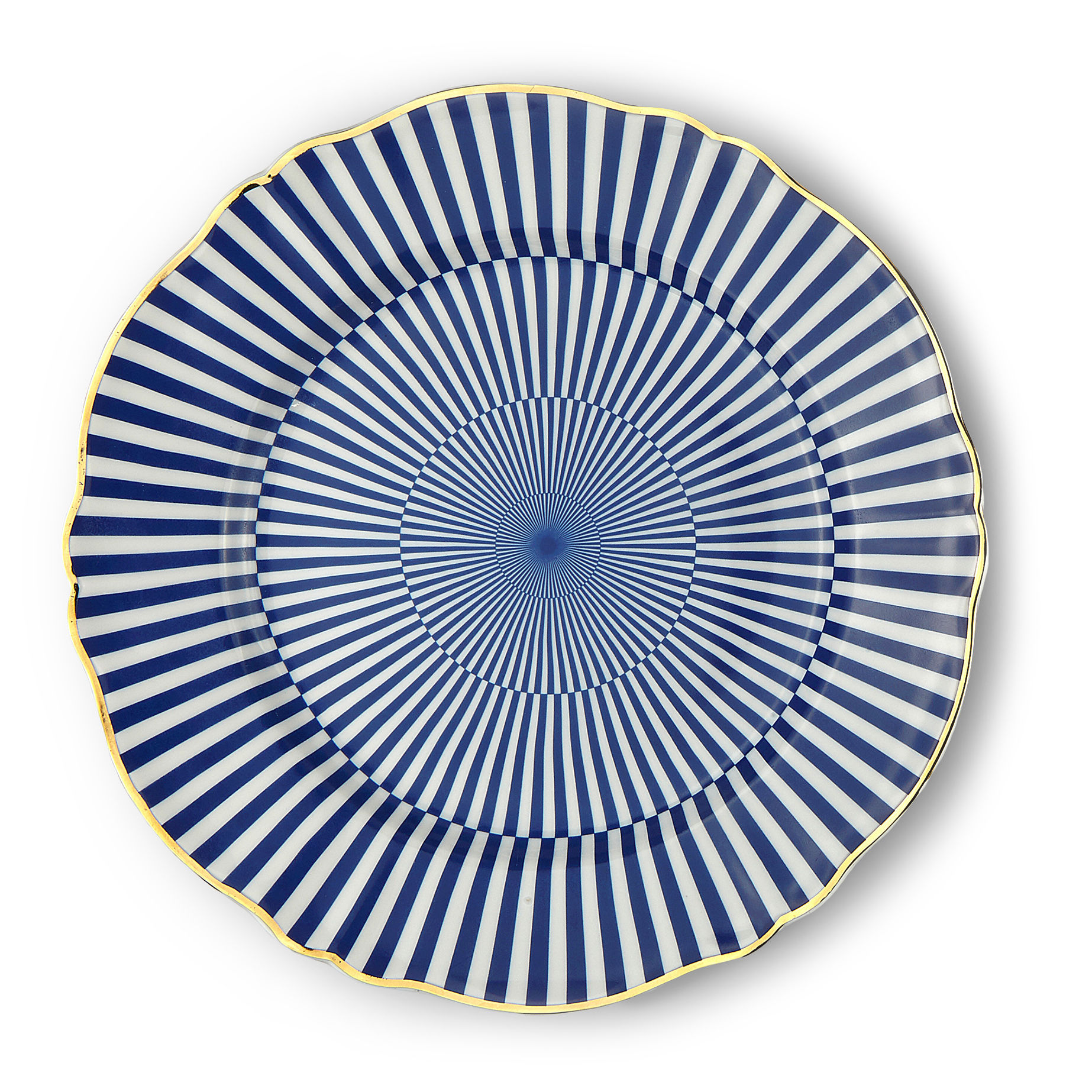 Tableware - Plates - Arcano Plate - / Ø 26.5 cm by Bitossi Home - Geometry - China
