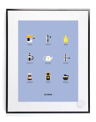 Decoration - Home Accessories - Le Duo - Café Poster - 40 x 50 cm by Image Republic - Café - Paper