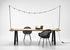 Matteo Rectangular table - / 215 x 100 cm - Teak & metal by Vincent Sheppard