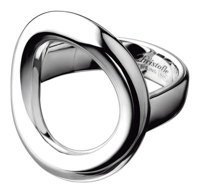 Accessories -  Jewellery - Collection 925 - Anneau Ring - By Andrée Putman by Christofle - Silver - Size 51 - Solid silver