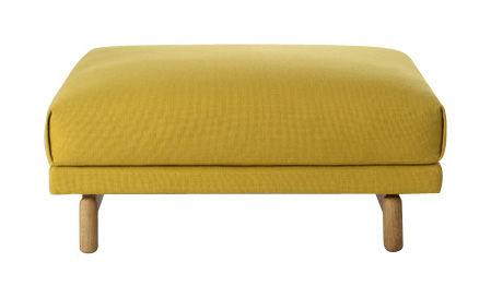 Möbel - Sitzkissen - Rest Sitzkissen - Muuto - Gelb - Kvadrat-Stoff