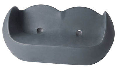 Image of Sofà Blossy di Slide - Grigio - Materiale plastico
