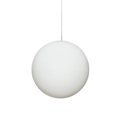 Suspension Luna / Ø 40 cm - Verre - Design House Stockholm blanc en verre