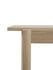 Table rectangulaire Linear WOOD / Bois - 200 x 90 cm - Muuto