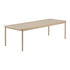 Table rectangulaire Linear WOOD / Bois 260 x 90 cm - Muuto