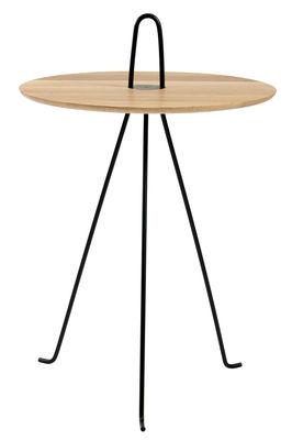 Image of Tavolino Tipi / Ø 42 x H 52 cm - Rovere - Objekto - Legno naturale - Legno