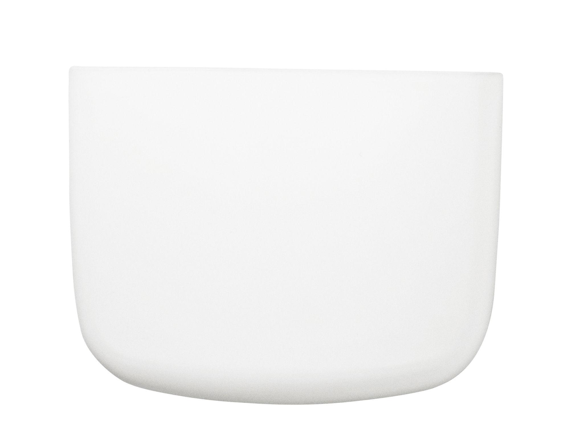 Dekoration - Für Kinder - Pocket 2 Wandablage / L 13 x H 10 cm - Normann Copenhagen - Weiß - Polypropylen