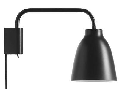 Luminaire - Appliques - Applique avec prise Caravaggio - Lightyears - Noir - Acier, Zinc